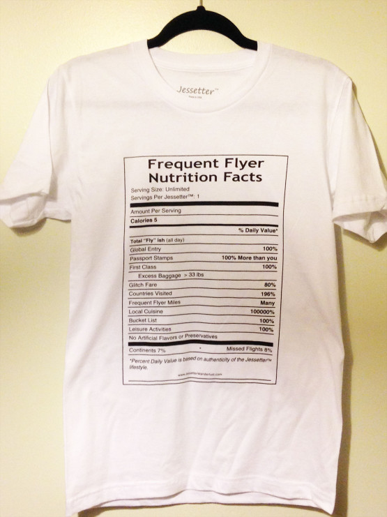 Frequent Flyer & Nutrition Facts